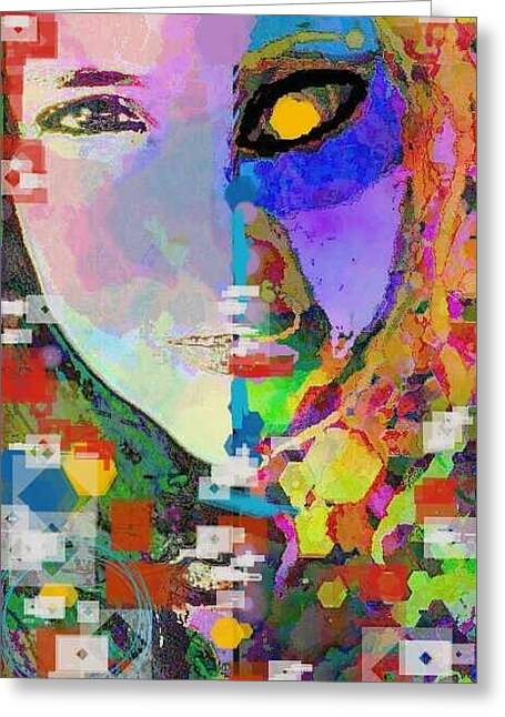 Self-portrait Photographs Greeting Cards - Dreamer Greeting Card by Ana Julia Fishman