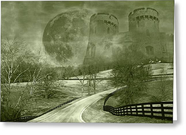 Interesting Clouds Greeting Cards - Dreamer Kingdom Greeting Card by Betsy C  Knapp
