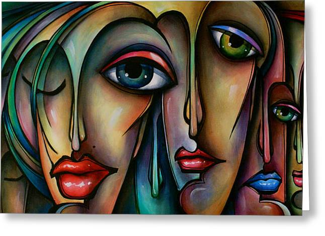 Dreamers  2 Greeting Card by Michael Lang