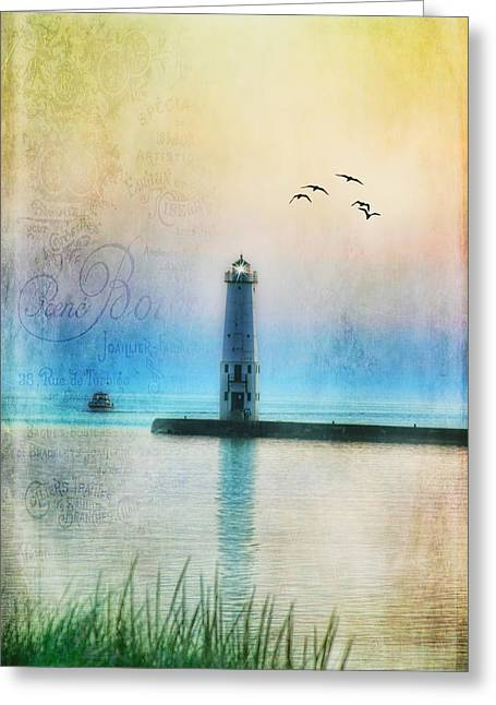 Joan Bertucci Greeting Cards - Dreaming Greeting Card by Joan Bertucci