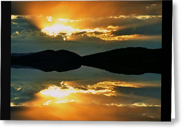 Sunset Posters Greeting Cards - Dreaming Greeting Card by Kevin Bone