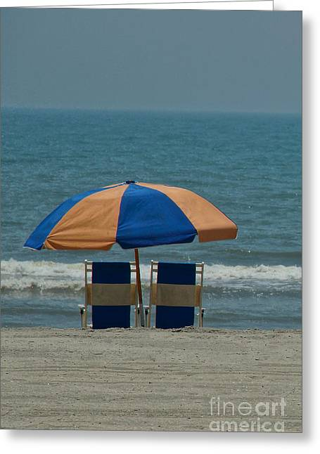 Myrtle Beach Greeting Cards - Dreaming Greeting Card by Matthew Trudeau