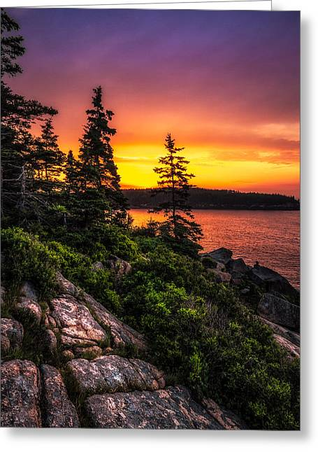 Ocean Photography Greeting Cards - Dreaming Of Acadia Greeting Card by Robert Clifford