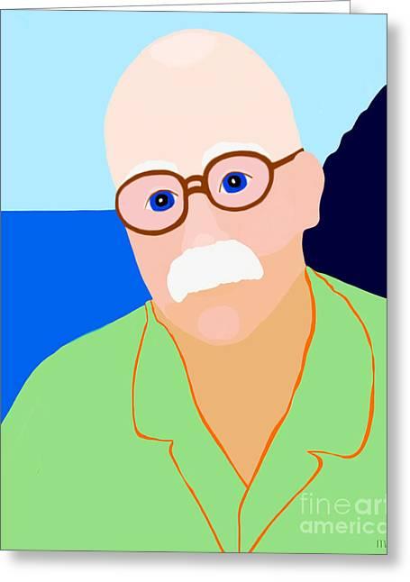Pajamas Greeting Cards - Dreaming Of Hawaii Greeting Card by Marian Cates