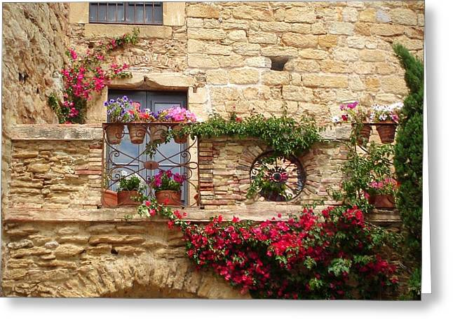 Carol Groenen Greeting Cards - Dreaming of Spain Greeting Card by Carol Groenen