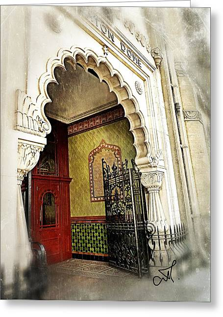 Book Cover Art Greeting Cards - Doorway To Stardom Greeting Card by Connie Handscomb