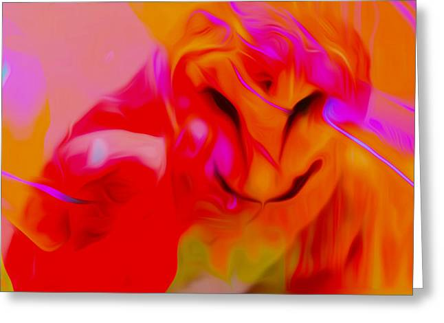 Ballet Of Colors Greeting Cards - Dreaming Of Wisdom Greeting Card by Michael T Moreno