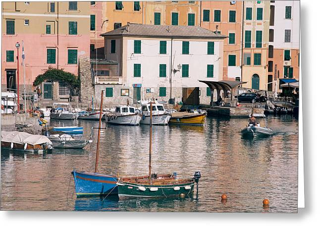 Camogli Greeting Cards - Dreaming together.. Greeting Card by A Rey
