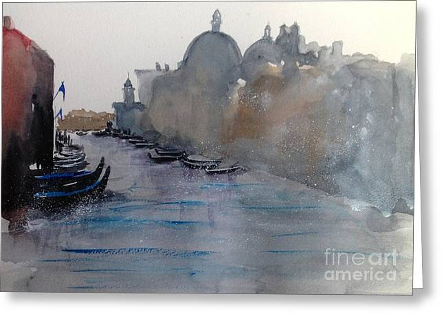Dreaming Venice Greeting Card by Gianni Raineri