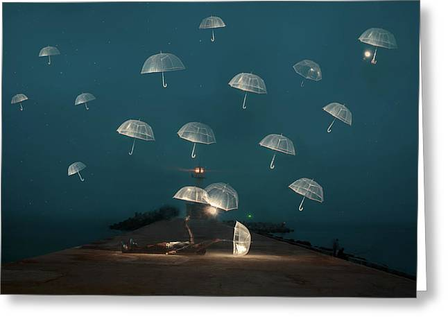 Dreams Greeting Card by Alexandar Lazarov