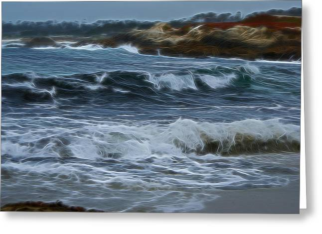 Dreams Of Carmel Digital Art Greeting Card by Ernie Echols