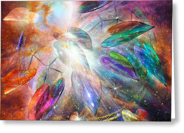 Spirit Catcher Greeting Cards - Dreams Of Love Greeting Card by Carol Cavalaris