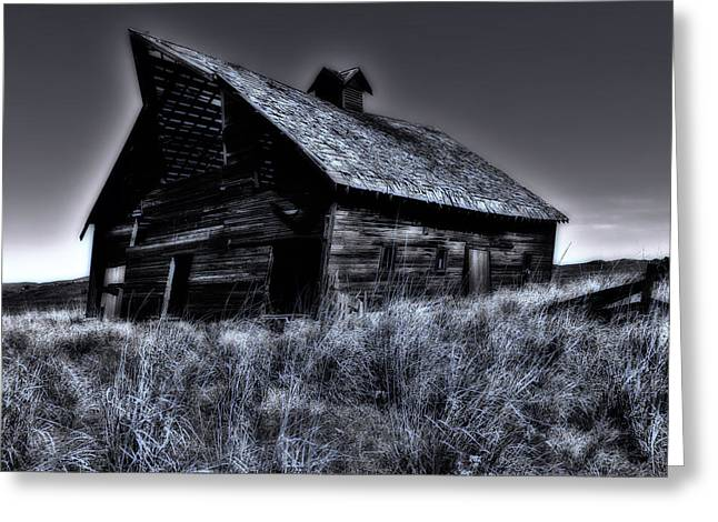 Rundown Barn Greeting Cards - Dreams of the Farm Greeting Card by Mountain Dreams