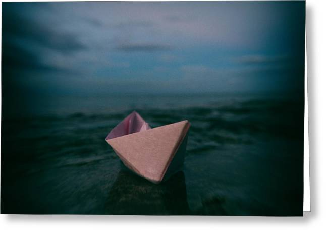 Toy Boat Greeting Cards - Dreams Greeting Card by Stylianos Kleanthous