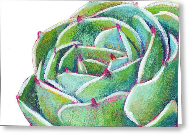 Succulent Greeting Cards - Dreams To Come Greeting Card by Athena  Mantle