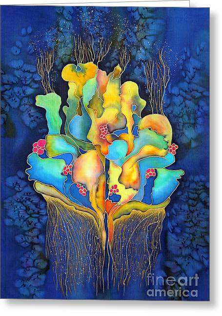 Dream Scape Greeting Cards - Dreamscape I Greeting Card by Ursula Schroter