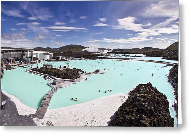 Geothermal Greeting Cards - Dreamstate Greeting Card by Evelina Kremsdorf