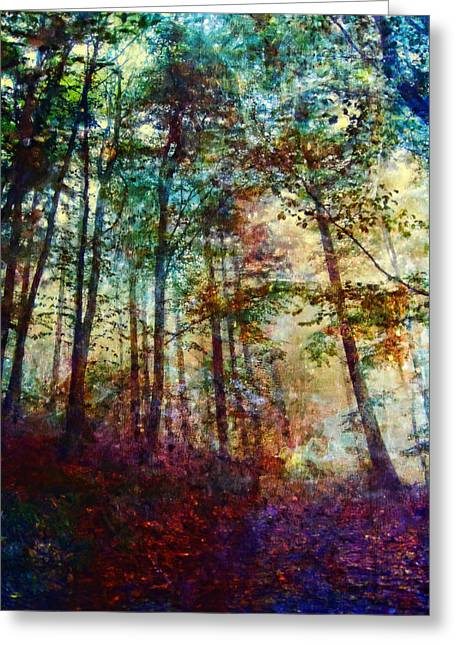 Hidden Desires Greeting Cards - Dreamy Forest Greeting Card by Joe Misrasi