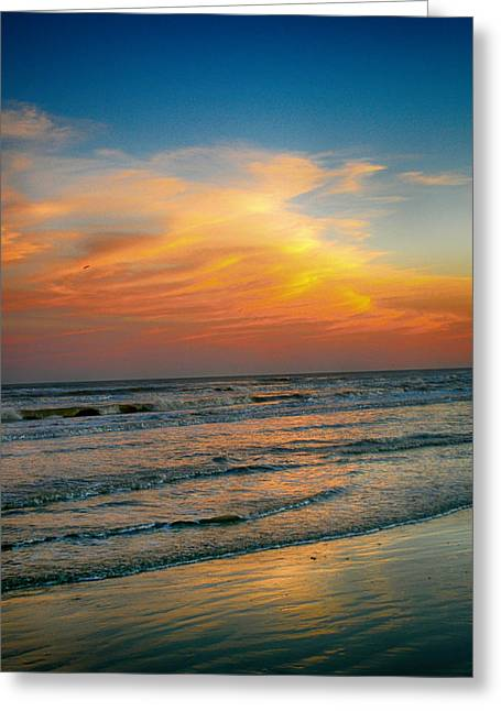 Hallmark Greeting Cards - Dreamy Texas Sunset Greeting Card by Kristina Deane
