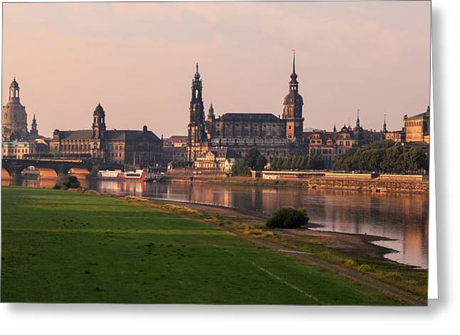 Frauenkirche Greeting Cards - Dresden 05 Greeting Card by Tom Uhlenberg