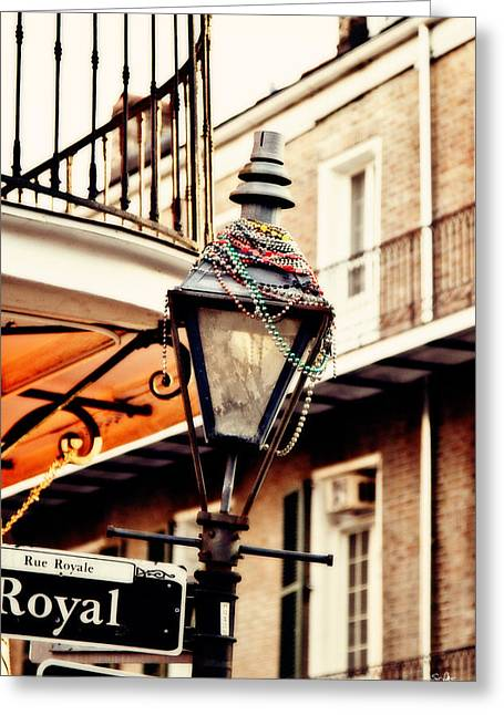 French Quarter Photographs Greeting Cards - Dressed for the Party Greeting Card by Scott Pellegrin