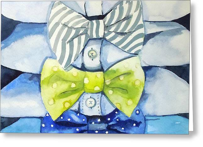 Dressed To Impress Greeting Card by Roleen  Senic
