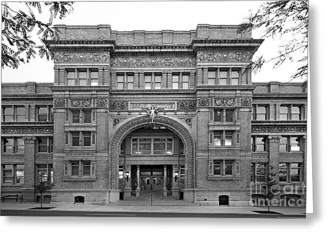 Great Cities Universities Greeting Cards - Drexel University Main Building Greeting Card by University Icons