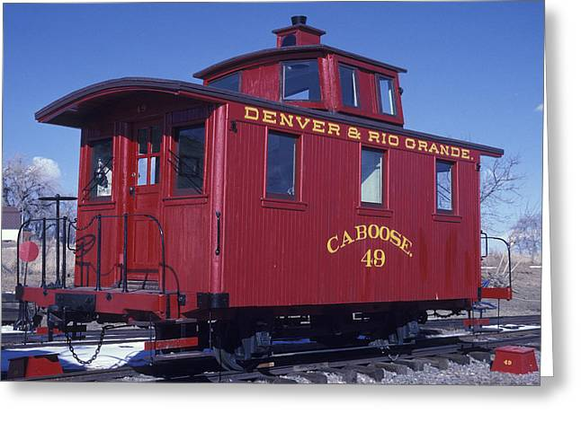 Colorado Railroad Museum Greeting Cards - Drg 49 Greeting Card by Duncan Mackie