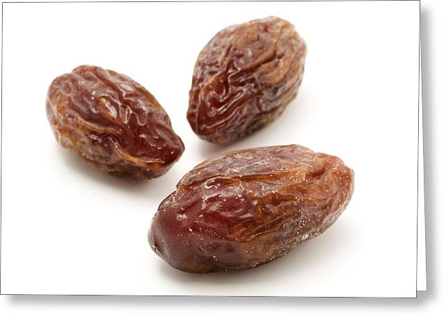 Dated Greeting Cards - Dried Medjool dates Greeting Card by Fabrizio Troiani