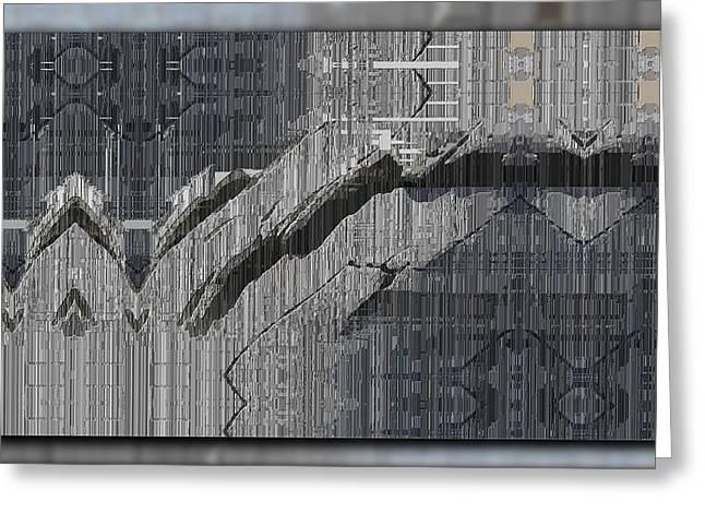 Drifting Digital Art Greeting Cards - Drifting Greeting Card by Tim Allen