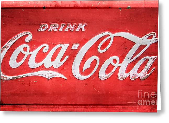 Soft Drink Greeting Cards - Drink Greeting Card by Perry Webster