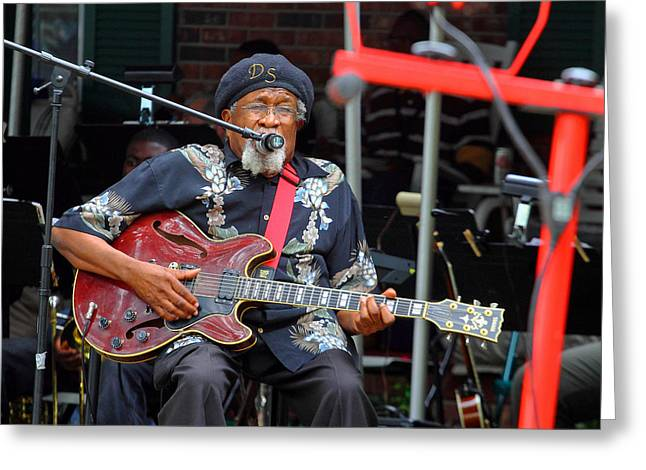 Drink Small The Blues Doctor 2 Greeting Card by Joseph C Hinson Photography