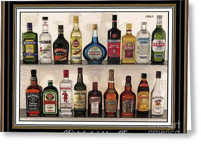 Pemaro Greeting Cards - Drinks for the holiday DFTH2 Greeting Card by Pemaro