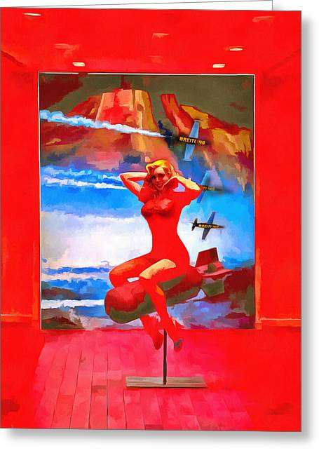 Installation Art Paintings Greeting Cards - Drive Greeting Card by Viktor Savchenko