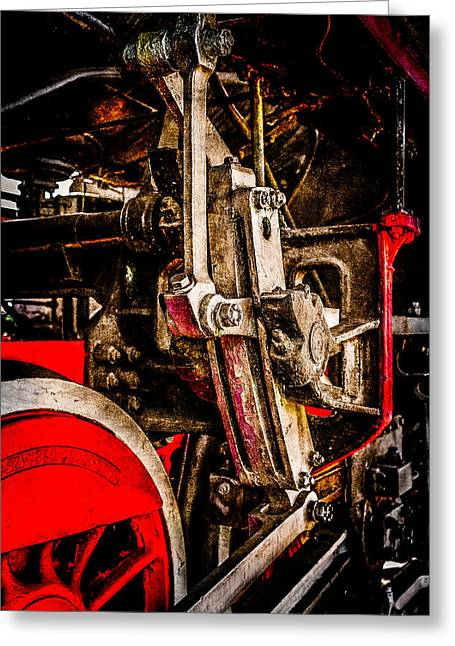 Driving Machine Greeting Cards - Driving Gear Greeting Card by Alexander Senin