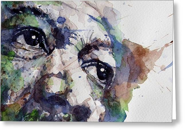 American Actor Greeting Cards - Driving Miss Daisy Greeting Card by Paul Lovering