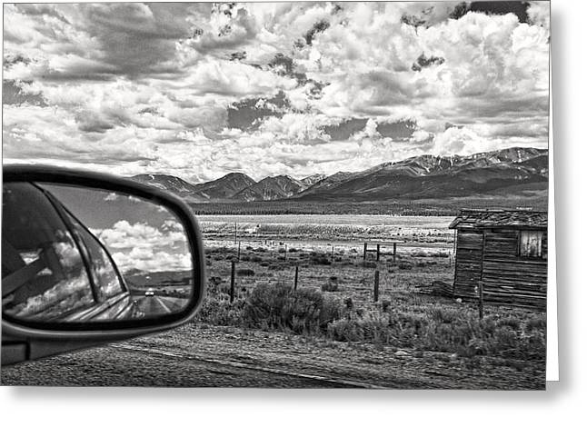 Hdr Effects Greeting Cards - Driving Through Colorado Greeting Card by Susan Stone