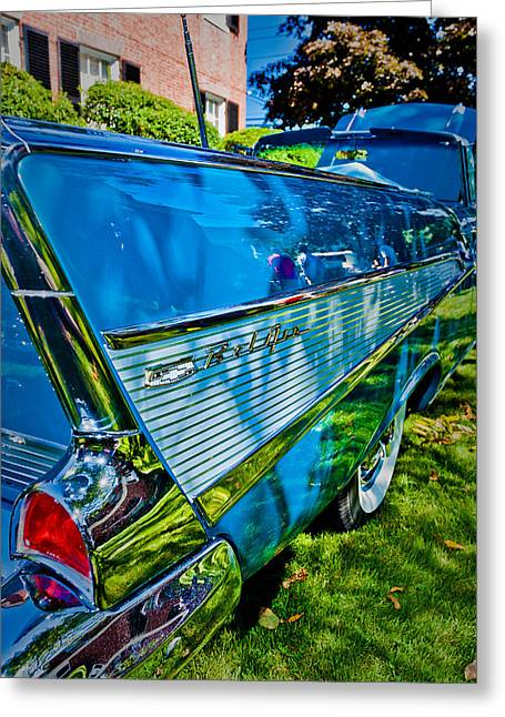 Drop Top And Tail Fins Greeting Card by Jeff Sinon