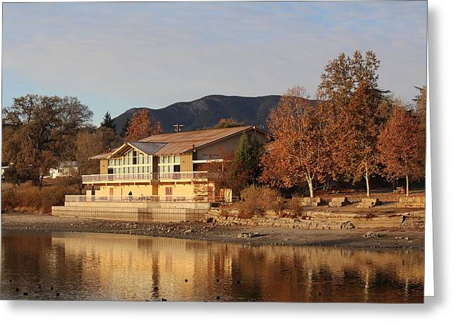 Atascadero Greeting Cards - Droughted Boathouse Greeting Card by Carol Jesse