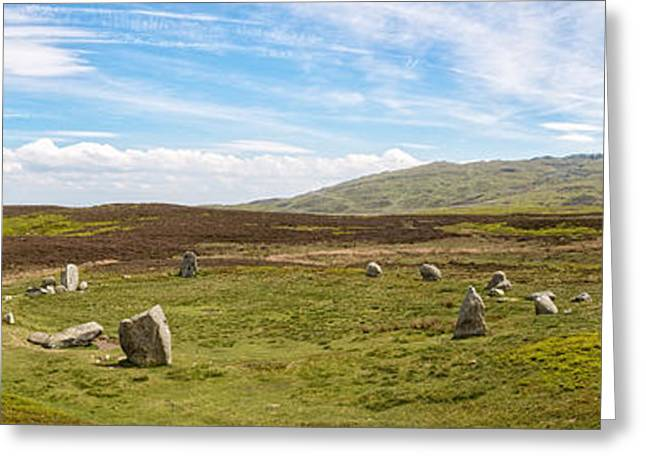 Bronze Age Greeting Cards - Druids Stone Circle Greeting Card by Amanda And Christopher Elwell