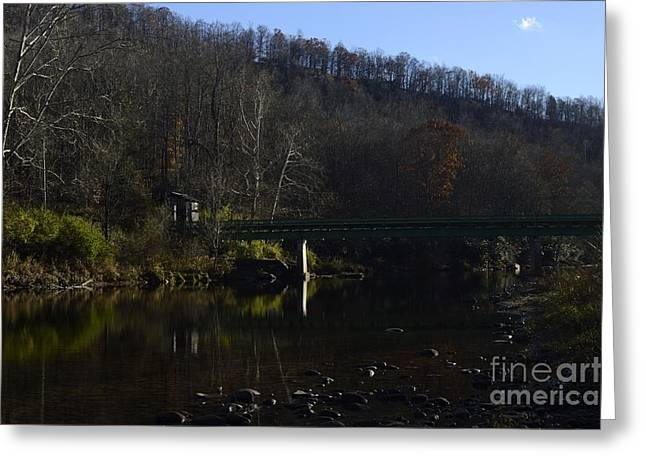 West Fork Greeting Cards - Dry Fork at Jenningston Greeting Card by Randy Bodkins