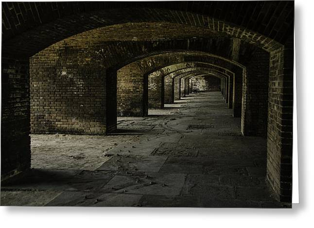 Dry Tortugas Greeting Cards - Dry Tortugas Cannon Greeting Card by Karen Kratz