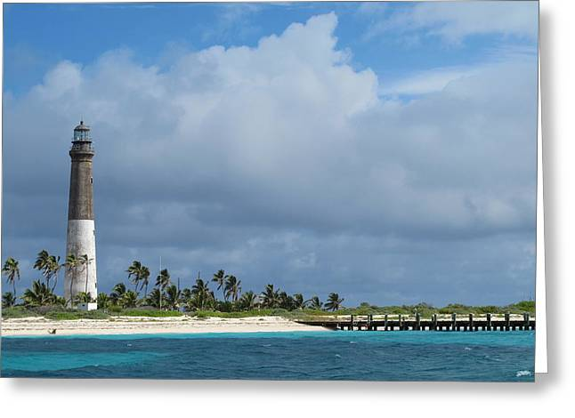 Dry Tortugas Greeting Cards - Dry Tortugas Light Greeting Card by Kim Pippinger