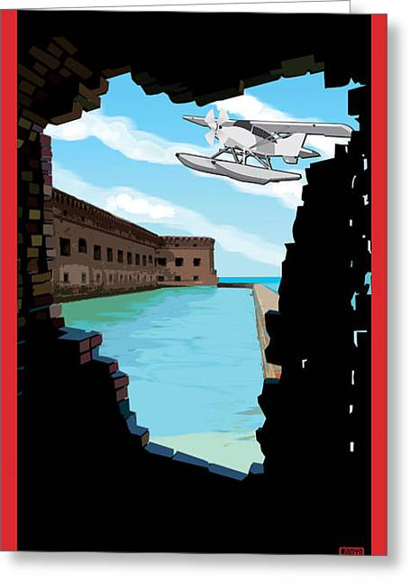 Dry Tortugas National Park Greeting Cards - Dry Tortugas National Park Greeting Card by Jim Sanders