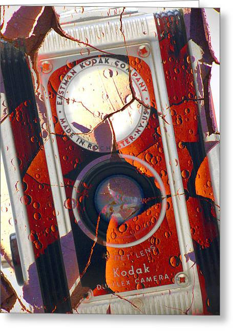 Kodak Greeting Cards - Kodak Duaflex II Greeting Card by Mike McGlothlen