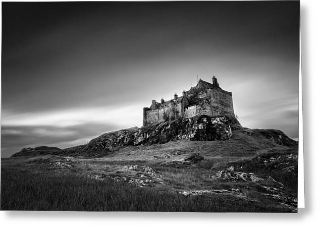 Duart Castle Greeting Card by Dave Bowman