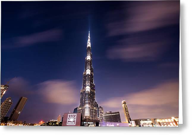 Tony Murray Greeting Cards - Dubai Greeting Card by Tony Murray