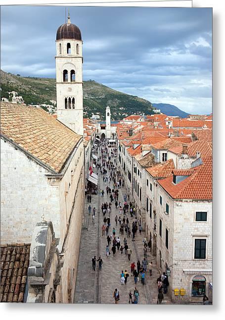 Stone House Greeting Cards - Dubrovnik Greeting Card by Artur Bogacki