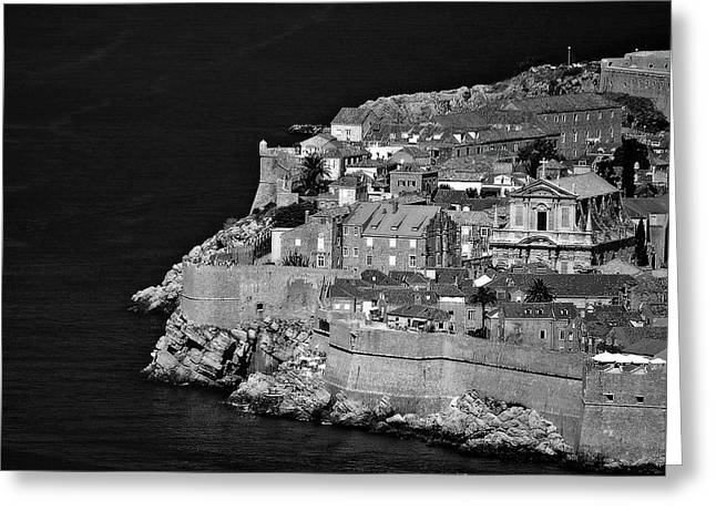 Dubrovnik Greeting Card by Mario Celzner