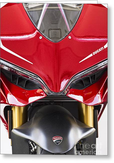 Austin Tx Greeting Cards - Ducati-Unplugged V11 Greeting Card by Douglas Barnard